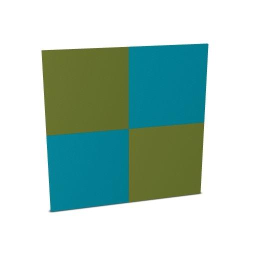 Febru akoestisch wandpaneel 1200 x 1200 mm 4 kleuren