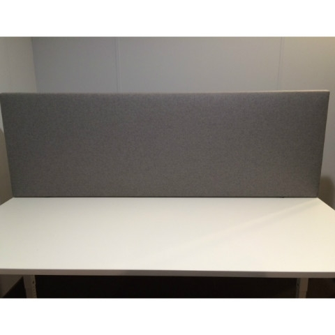 Akoestische desk-up scheidingswand B-MoVe 1200x600 mm