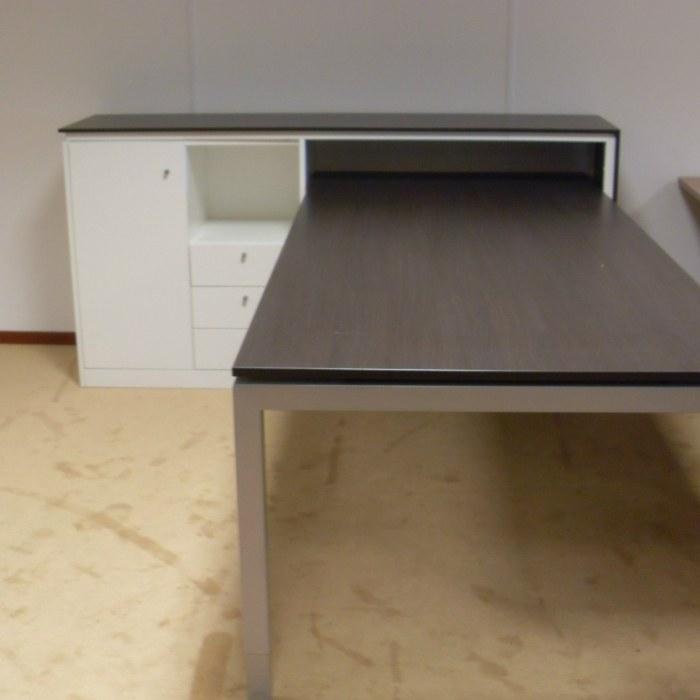 Bureauset U4 tafel + bijpassende kast [5]