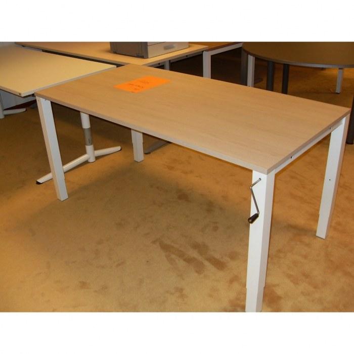Bureautafel met slingerverstelling 160 x 80 cm