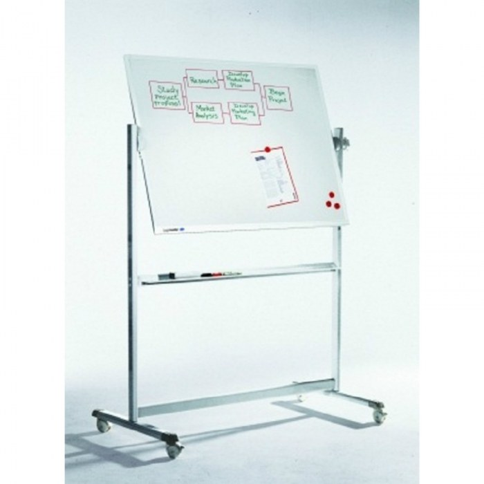 Professional kantelbaar whiteboard 100x150 cm