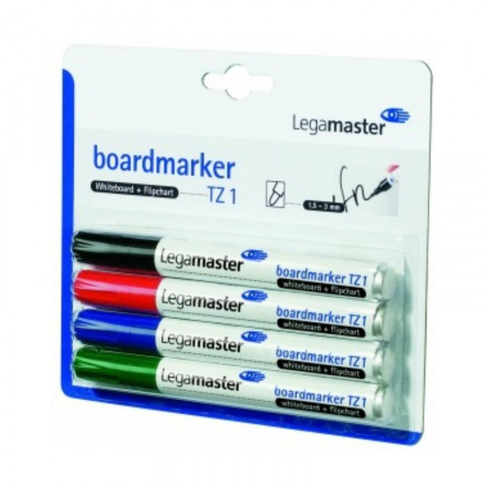 Set van 4 Boardmarkers