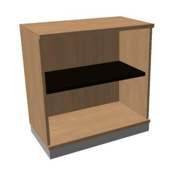 OKA houten open kast 82x80x45 cm