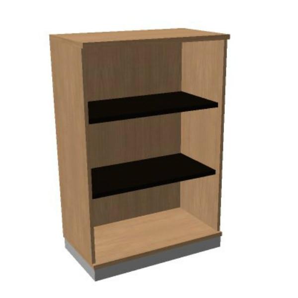 OKA houten open kast 120,3x80x45 cm