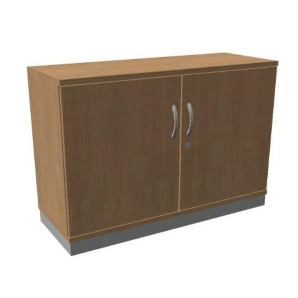 OKA houten draaideurkast 82x120x45 cm