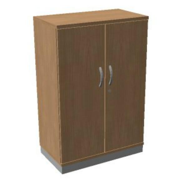 OKA houten draaideurkast 120,3x80x45 cm