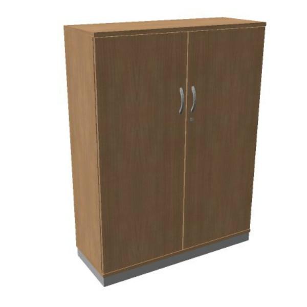 OKA Houten Draaideurkast 158,7x100x45 cm
