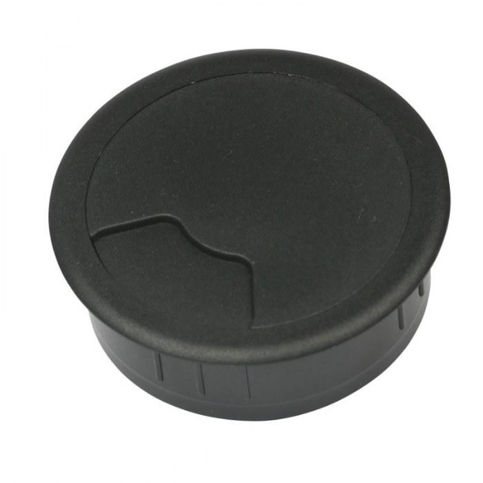 Kabeldoorvoer 3 delig Ø 60 mm zwart
