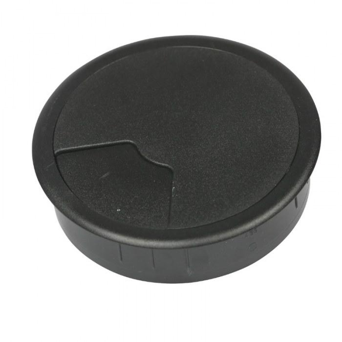 Kabeldoorvoer 3 delig Ø 80 mm zwart