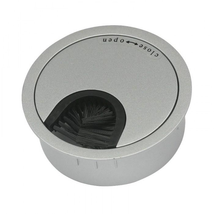 Kabeldoorvoer metaal Ø 60 mm aluminium