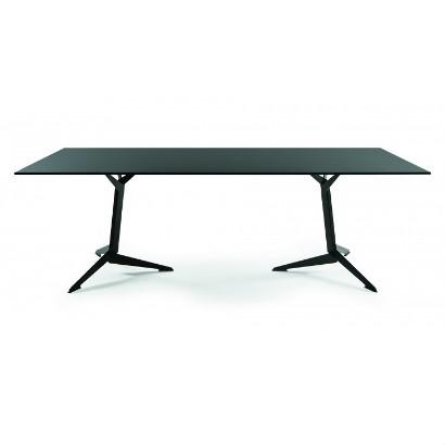 Viasit TRI vergadertafel 200 x 100 cm melamine blad