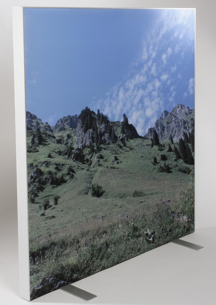 Acoustistof Roomdivider met print 1800 x 1500 mm