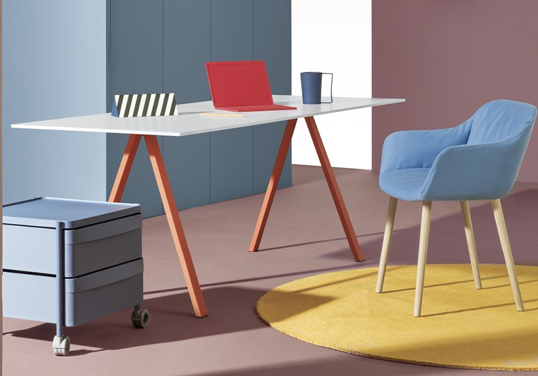 Pedrali Arki Desk Compact 1390 x 690 mm