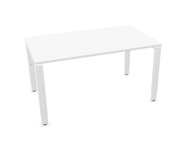 Assmann SOLOS bureau hoogte verstelbaar wit 140 x 80 cm