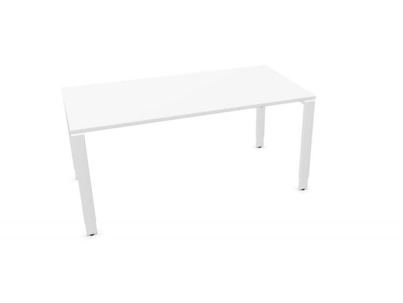 Assmann SOLOS bureau hoogte verstelbaar wit 160 x 80 cm