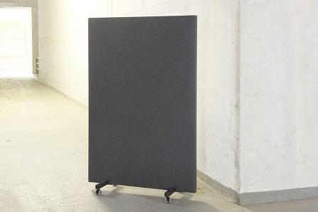B-Move Akoestische scheidingswand verrijdbaar 100 x 160 x 5,8 cm