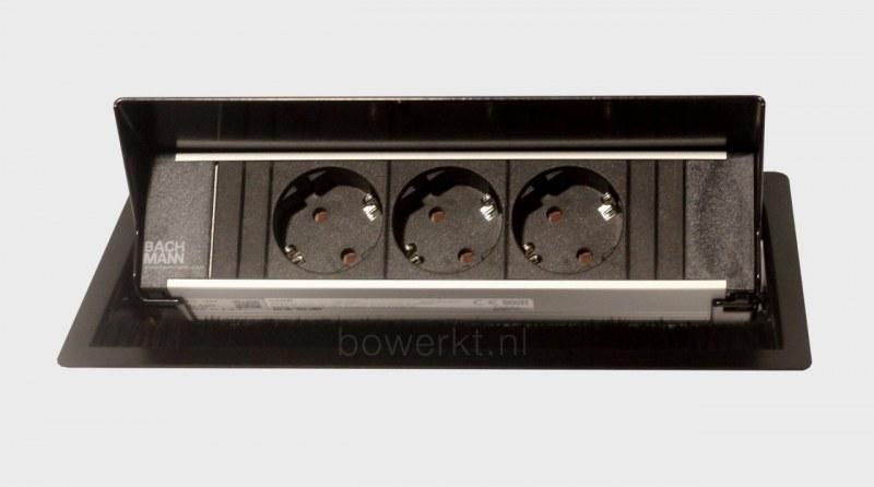 Bachmann CONI inbouwmodule 3x stroom