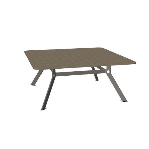 Febru Spider vergadertafel vierkant 180 x 180 cm