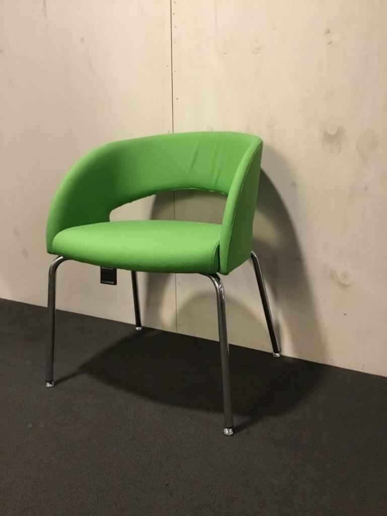 Sesta bijzetstoel groen