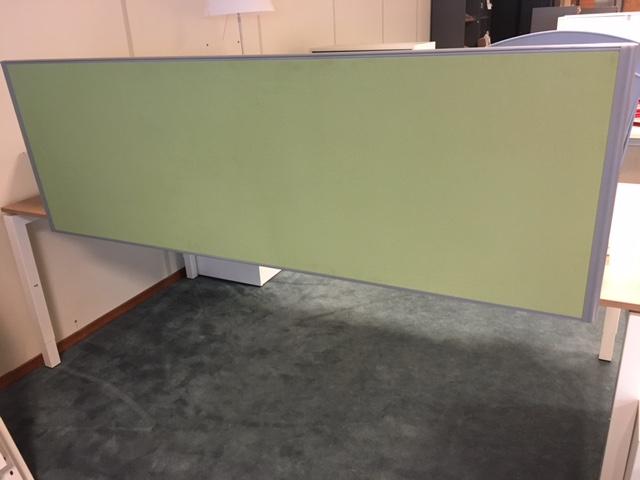 Opzetwand FW12 groen 1800 x 1600 mm