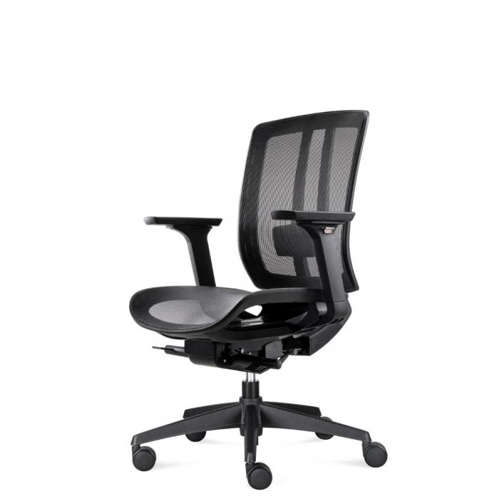 Bowerkt bureaustoel FYC 216D- Synchro 4