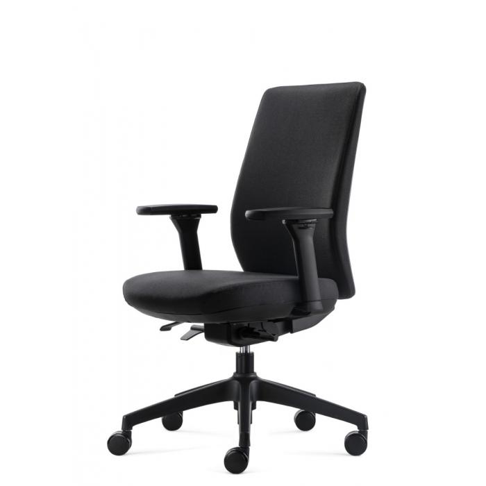 Bowerkt bureaustoel FYC 318 - Synchro 4