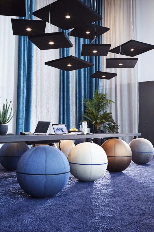 Gotessons Sound Off akoestisch plafondpaneel raw 100 x 100 cm