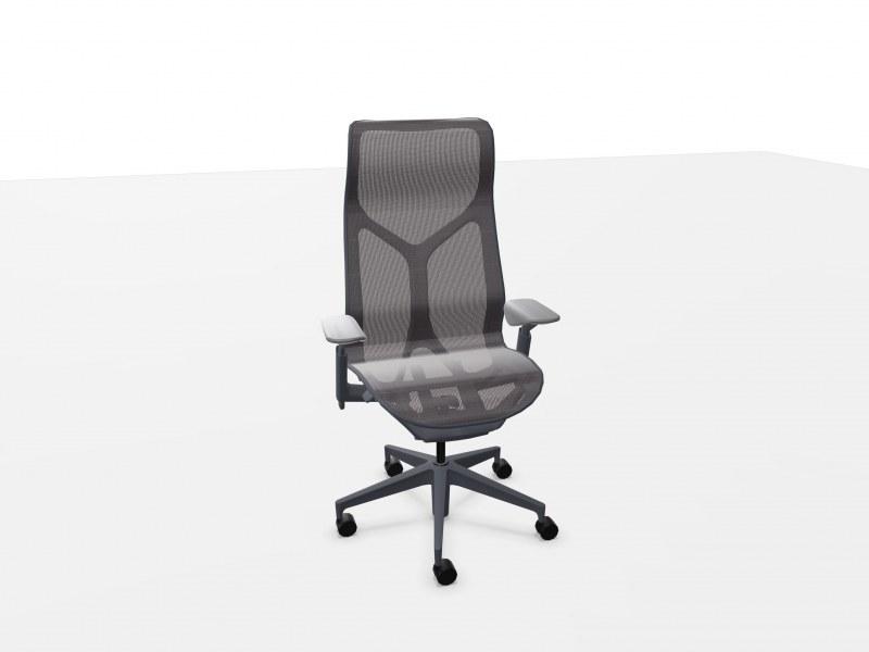 Herman Miller COSM bureaustoel met hoge rug grafiet