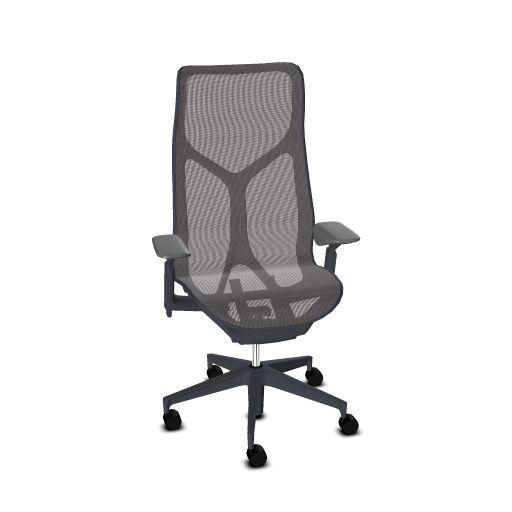 Herman Miller COSM bureaustoel grafiet hoge rug