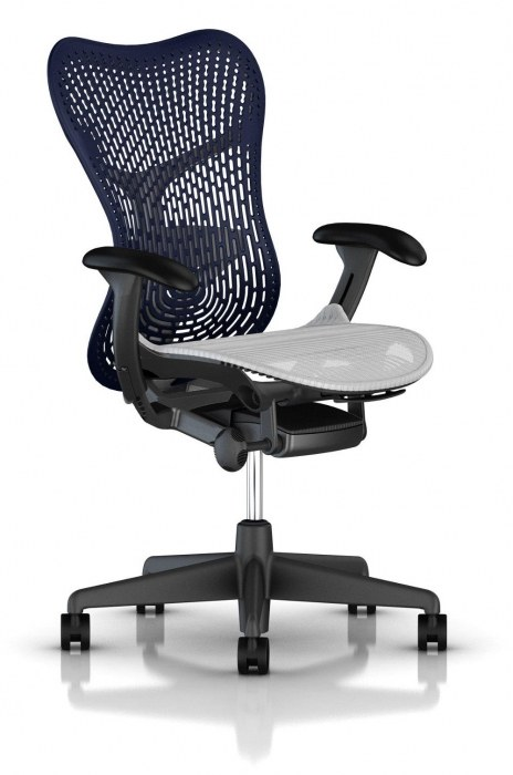 Herman Miller Mirra 2 twilight bureaustoel MRF131