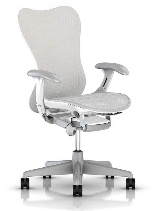 Herman Miller Mirra 2 white bureaustoel MRF131