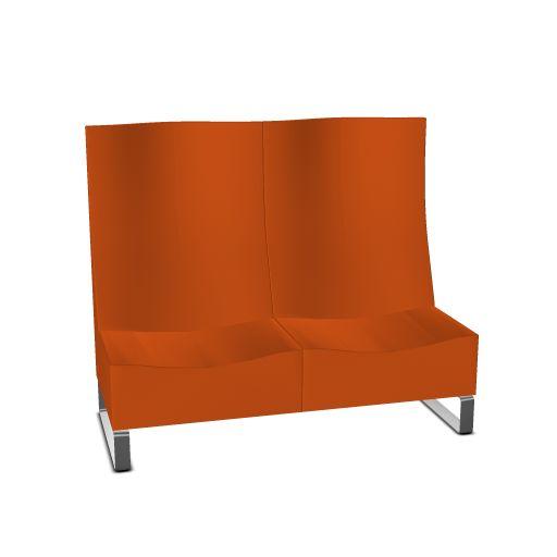 Klöber Concept C loungebank hoge rug