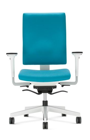 Nowy Styl 4ME bureaustoel wit onderstel