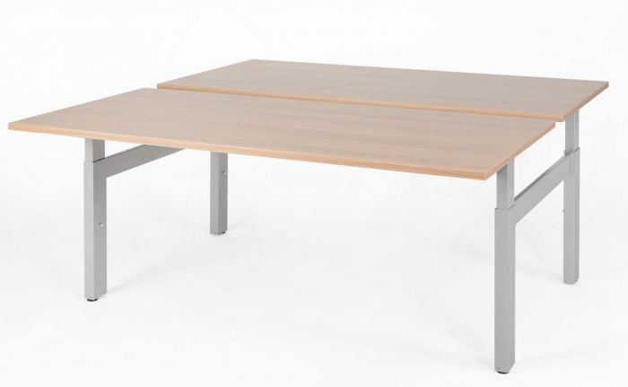 NPO Pro-Fit duo werkplek elektrisch 180 x 80 cm