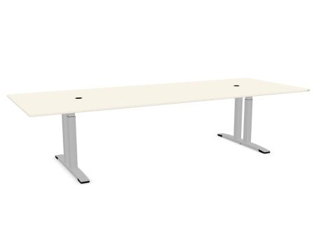 OKA DL11 vergadertafel elektrisch verstelbaar 320 x 120 cm