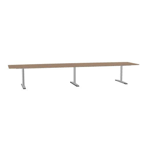 OKA JUMP vergadertafel tonvorm 480 x 120 cm