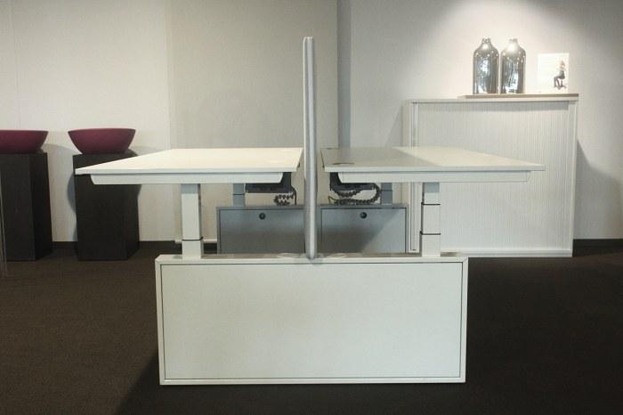 OKA duo-werkplek elektrisch verstelbaar
