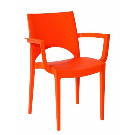 Orange Office Kantinestoel met armleggers 082