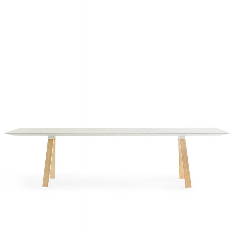 Pedrali ARKI WOOD vergadertafel 200 x 100 cm