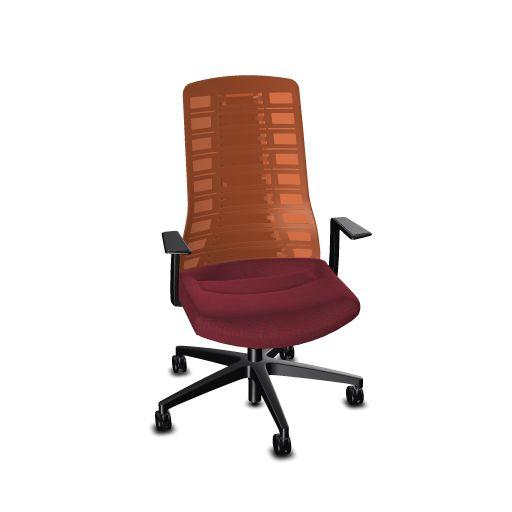 Interstuhl PU213 bureaustoel netrug