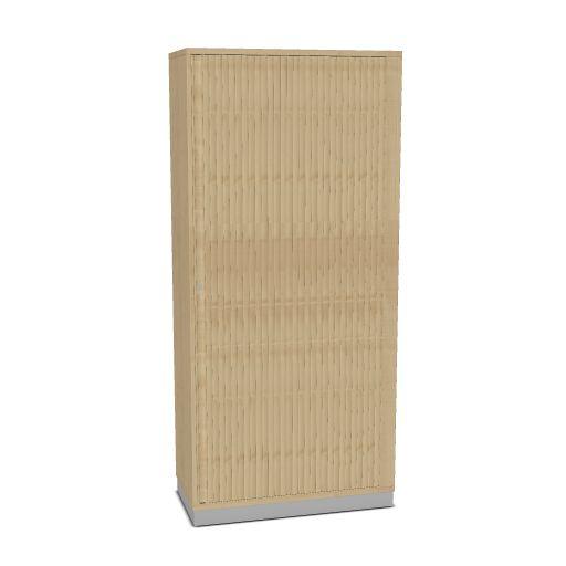 OKA houten jalouziedeurkast 197,1 x 90 x 45 cm