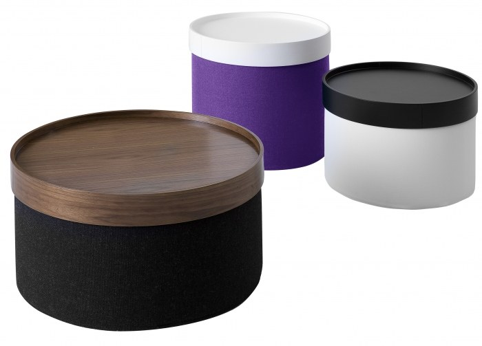Softline drums pouf small