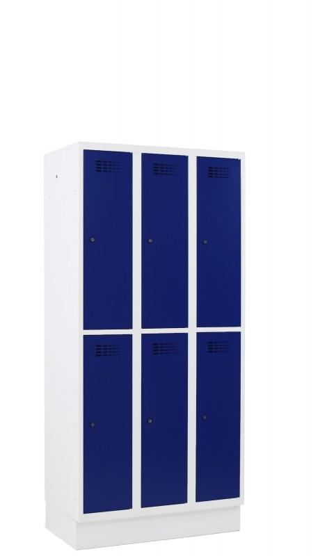 Stokq garderobekast 6 deurs