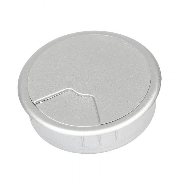 Kabeldoorvoer 3 delig Ø 60 mm zilver