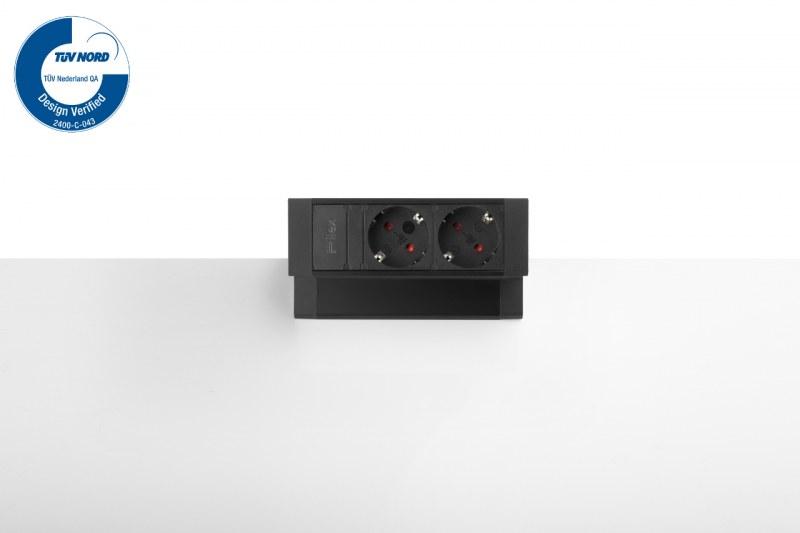 Thovip Power Desk Up 2x Stroom