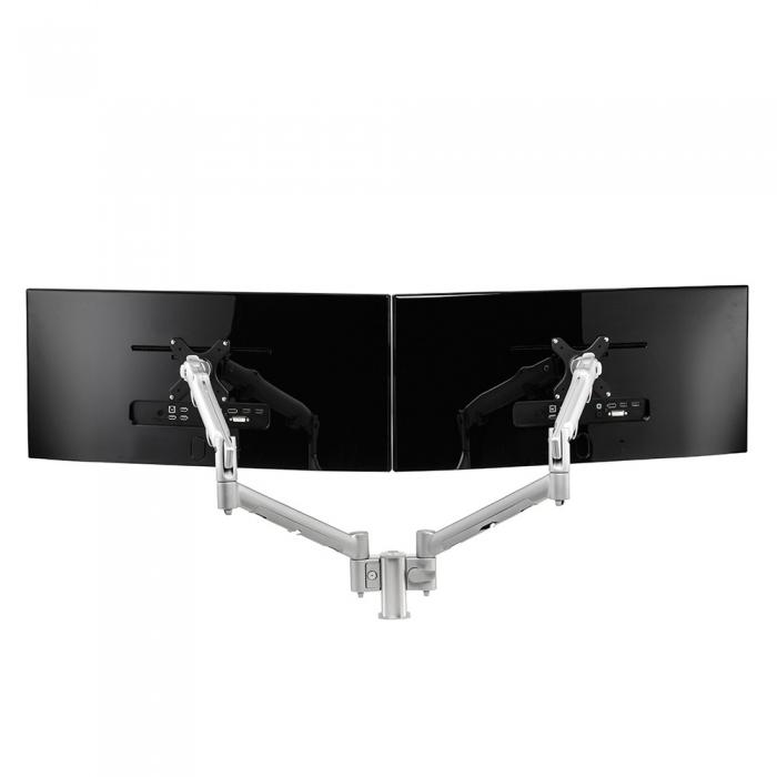 Monitorarm Systema veerarm voor 2 schermen