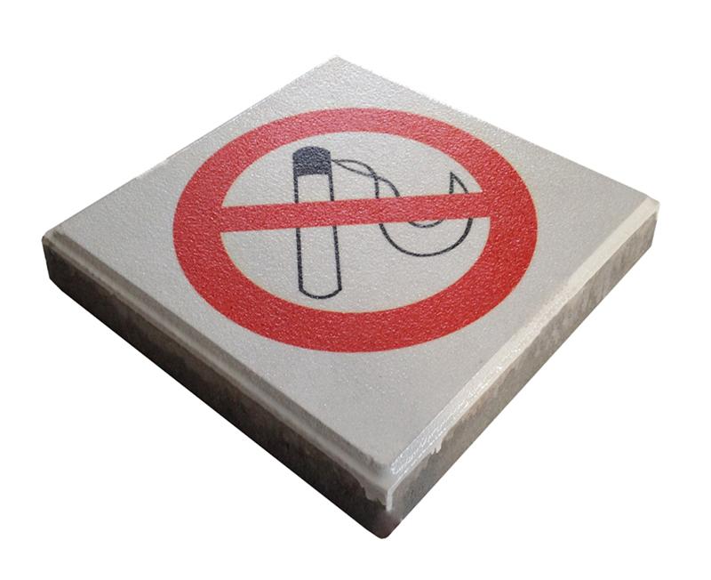 The Droppit - signaaltegel rookverbod