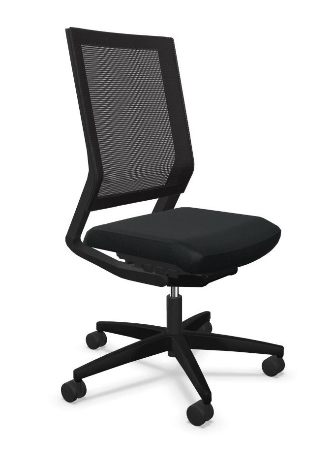 Viasit Impulse bureaustoel met netrug 414.2010 NPR SLP