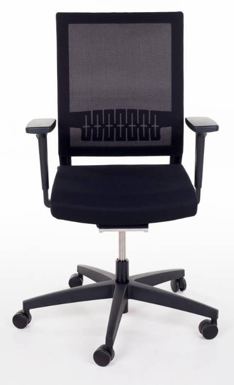Viasit Impulse bureaustoel met netrug 414.1010 NPR SLP