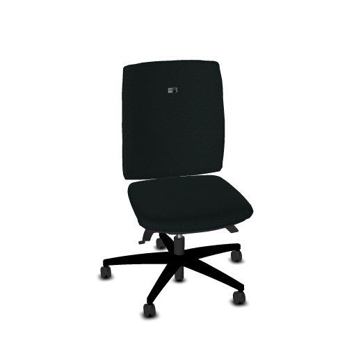 Viasit Bureaustoel Linea rughoogte 52 cm